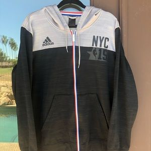 Adidas NYC 2015 All-Star Game Warm-up Jacket L